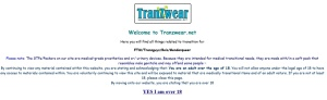 tranzwear welcome