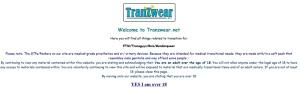 tranzwear welcome