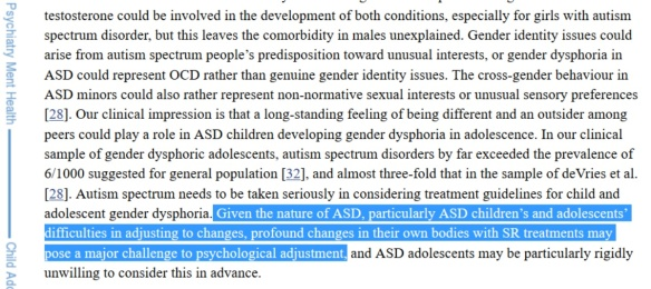 ASD and GD