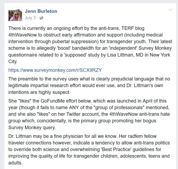 burleton on survey