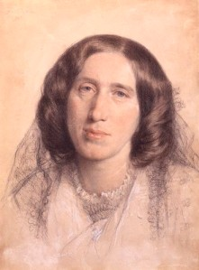 NPG 669,George Eliot (Mary Ann Cross (nÈe Evans)),by Sir Frederic William Burton