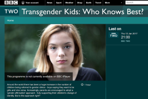 bbc trans kids who knows best