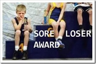 sore loser awards