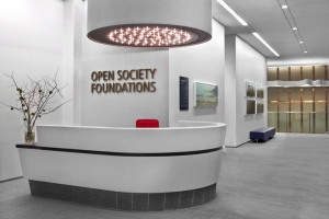 open society reception area
